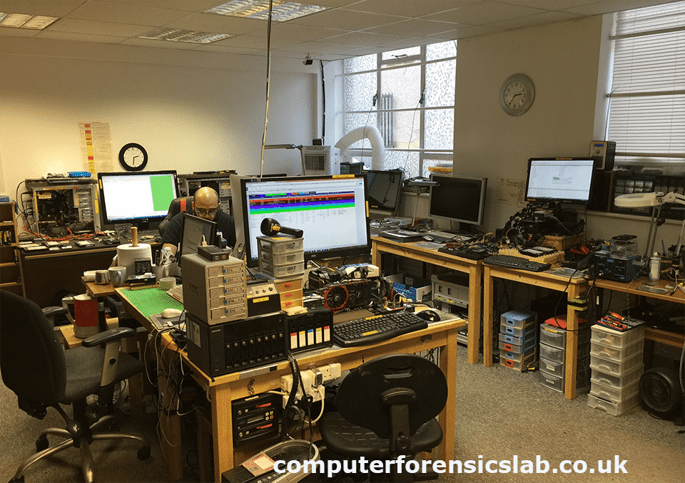 Data Recovery London Lab
